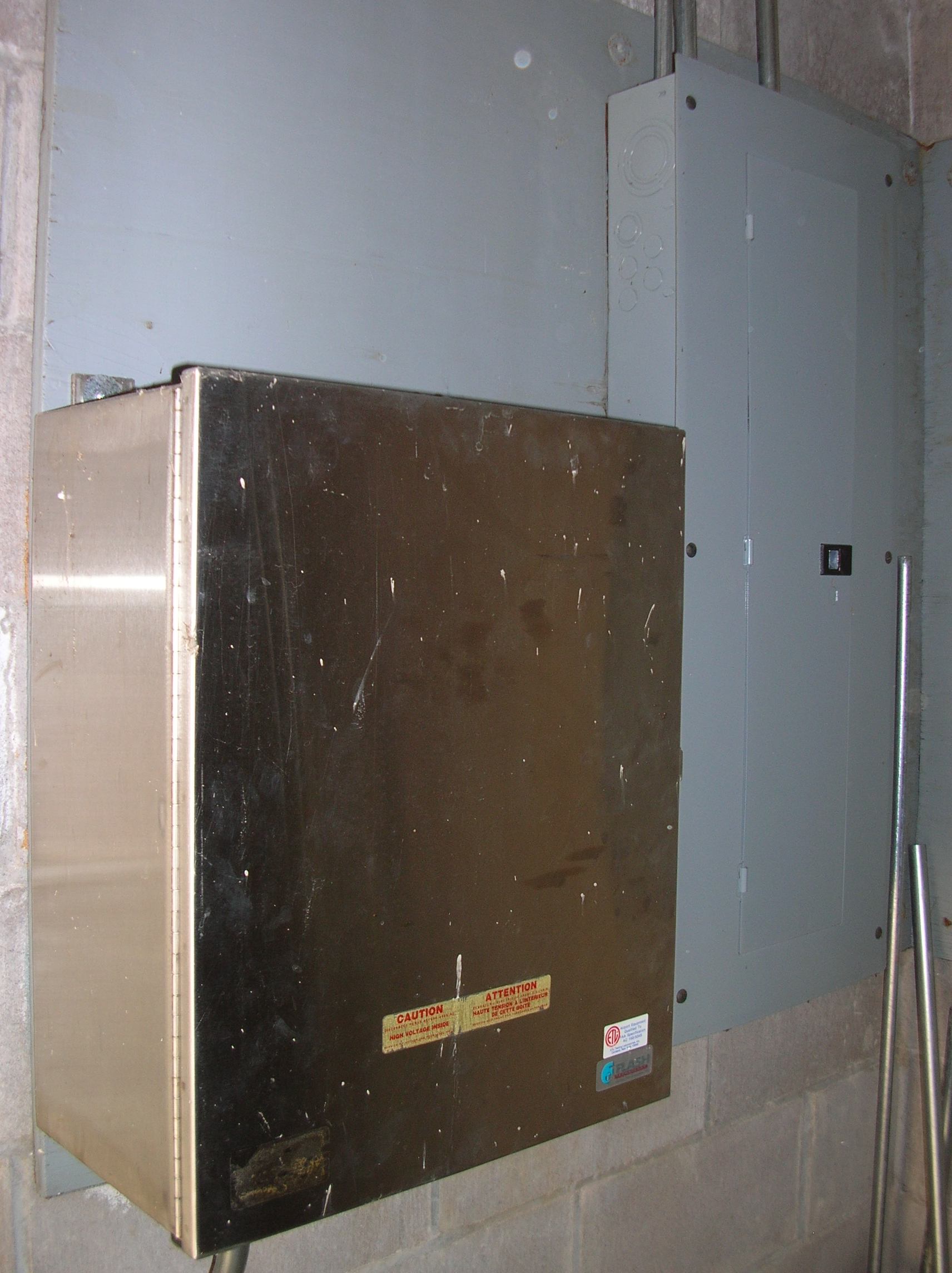Electrical Panel and Flasher
